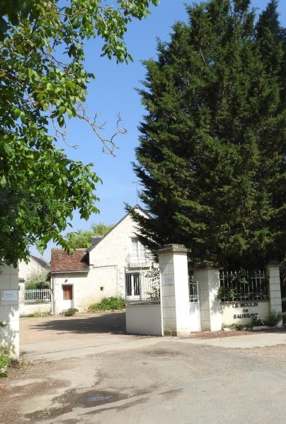 entrée du Moulin de Saussay - crouzilles ile bouchard