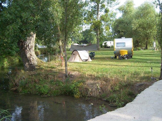 camping près de la Manse
